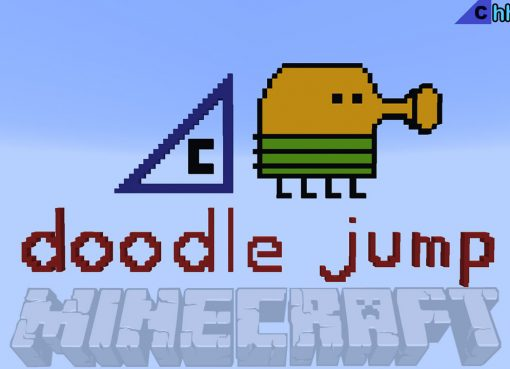 Doodle Jump Map for Minecraft
