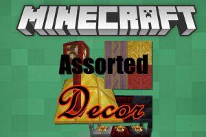 Assorted Decor Mod for Minecraft