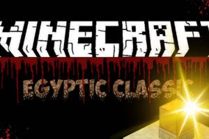 Egyptic Classic Map for Minecraft