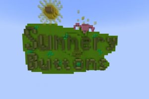 Summery Buttons Map for Minecraft