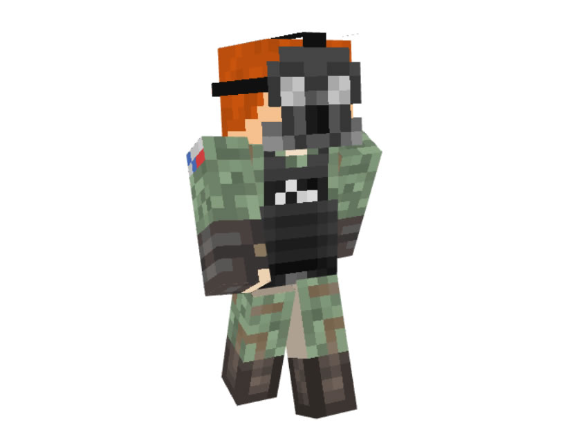 pikito Russian Military Skin for Minecraft