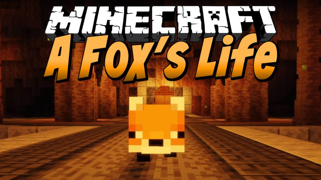 A Fox's Life Map for Minecraft