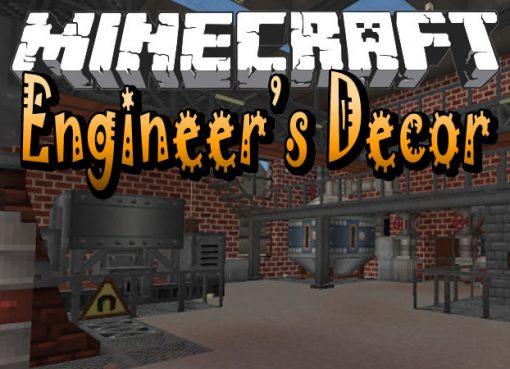 Engineer's Decor Mod for Minecraft