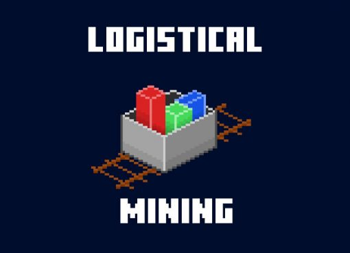 Logistical Mining Mod for Minecraft