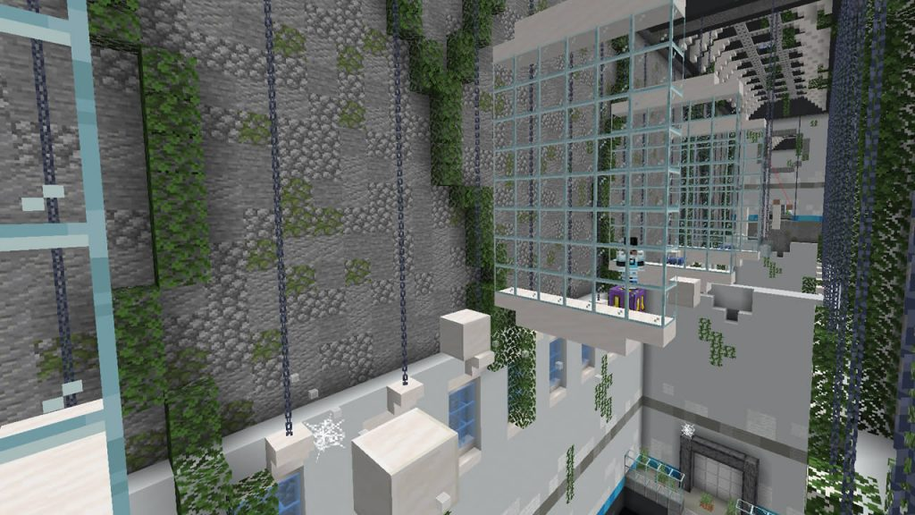 Moving Parkour Map Screenshot 2