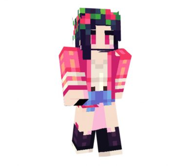 Narie Skin for Minecraft Girl