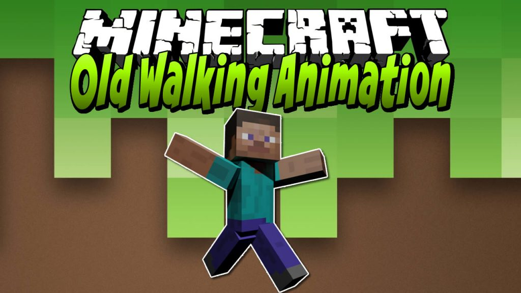 Old Walking Animation Mod for Minecraft