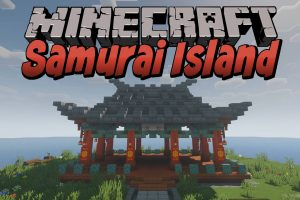 Samurai Island Map for Minecraft