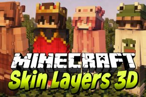 Skin Layers 3D for Minecraft