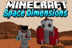Space Dimensions Mod for Minecraft
