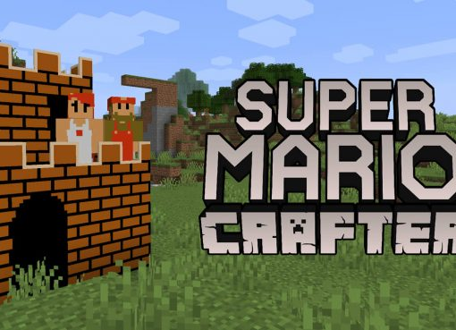 Super Mario Crafter Mod for Minecraft