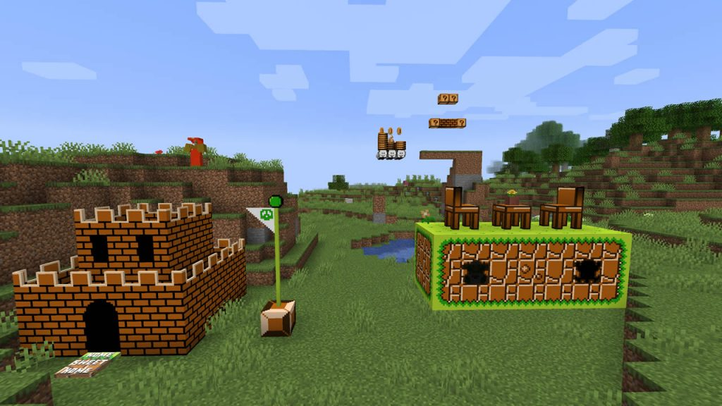 Super Mario Crafter Mod Screenshot