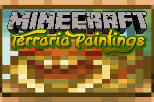 Terraria Paintings Mod for Minecraft