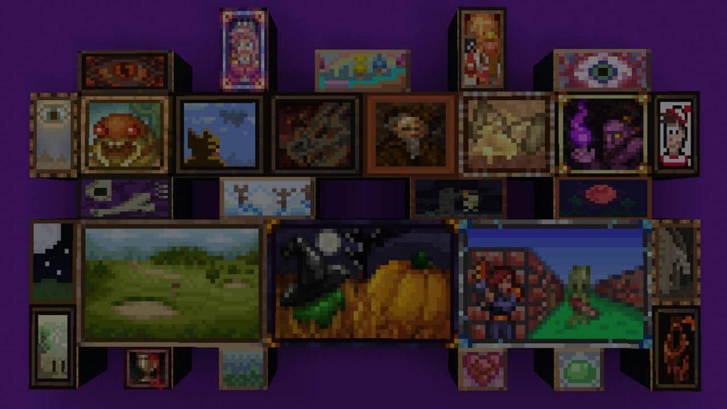 Terraria Paintings Mod Screenshot