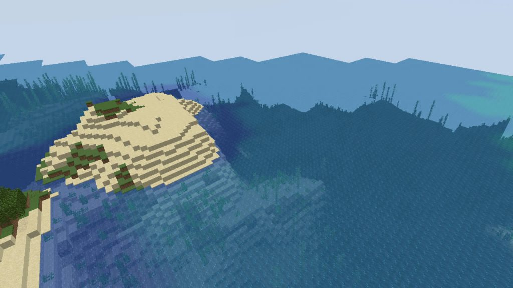 Two Islands on the Spawn Seed Screenshot