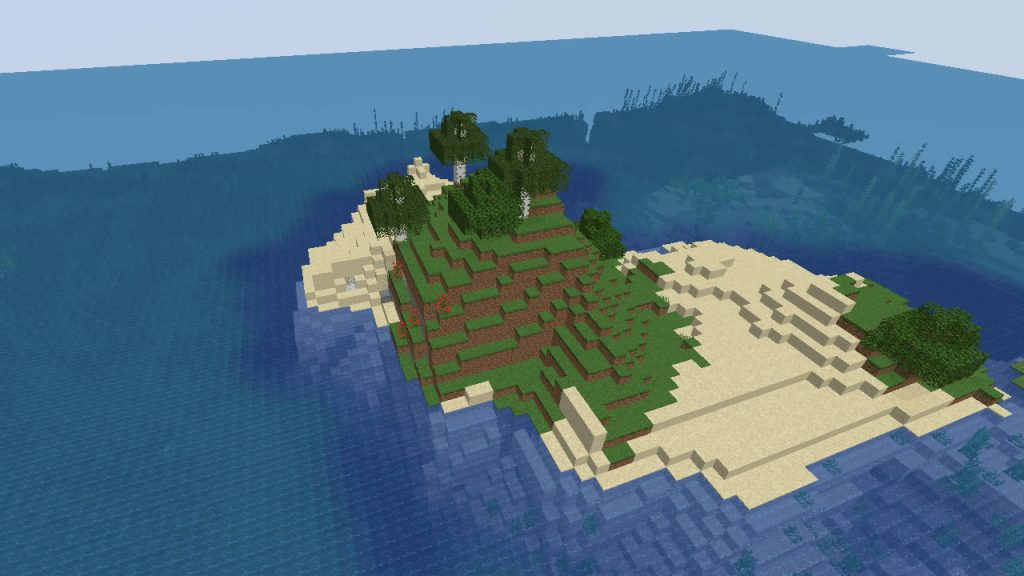 Two Islands on the Spawn Seed Screenshot 2