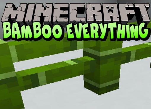 Bamboo Everything Mod for Minecraft
