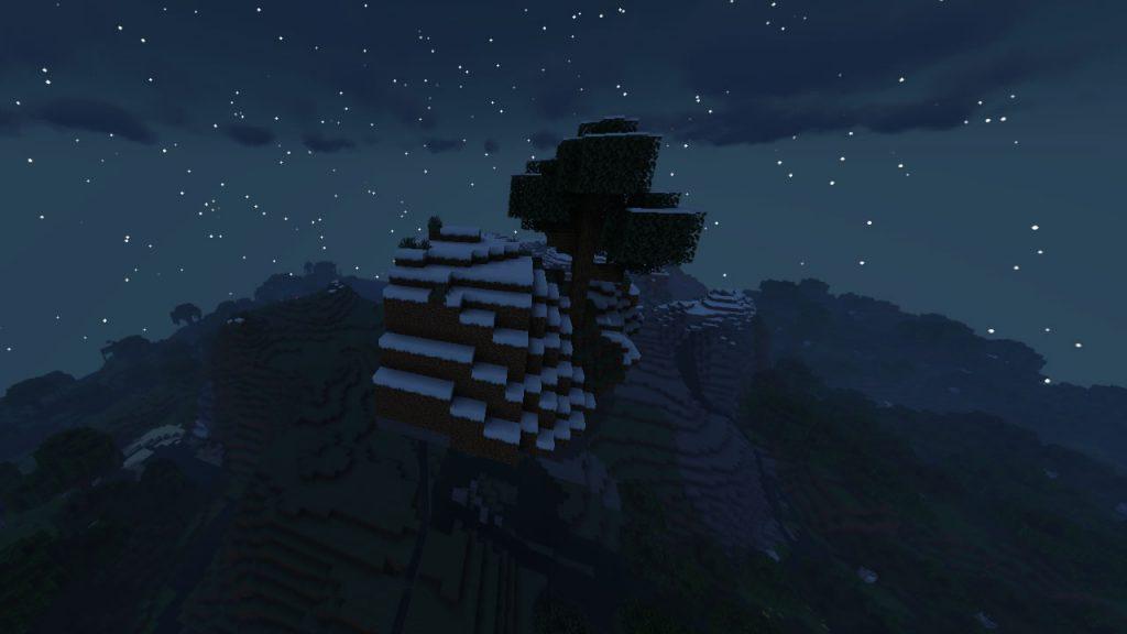 Sky Island Near the Mountains Seed Screenshot