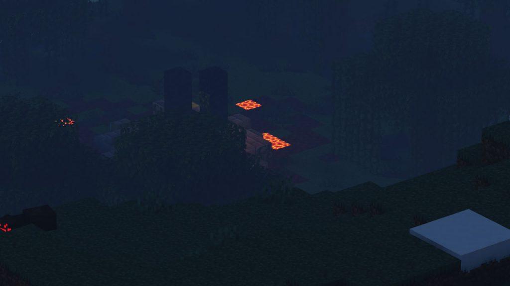 Sky Island Near the Mountains Seed Screenshot 2