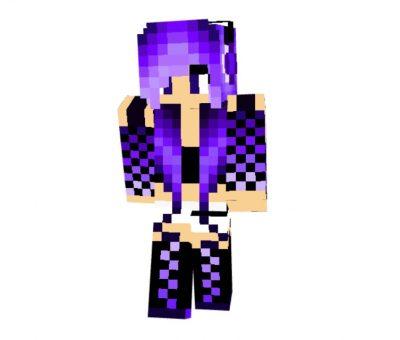 SyanKat2 skin for Minecraft girl