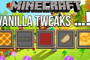 VanillaTweaks Mod for Minecraft