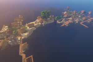 Zombie Village and Villagers Seed for Minecraft